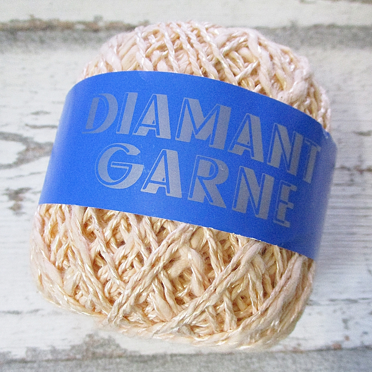 Wolle Diamantgarn Farbe_130 lachsrosa 66umwolle 34%Viskose Seidenglanz
